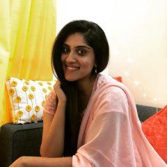 Dhanya Balakrishna with cute smile