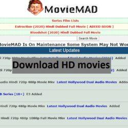 Movie mad site