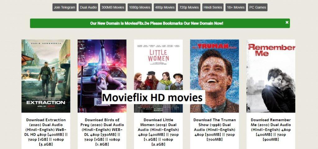 Movieflix site