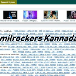 Tamilrockers kannada site