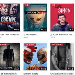 Movies4u site