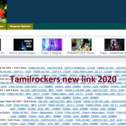 Tamilrockers new link site