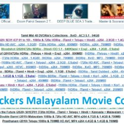 Tamilrockers malayalam website