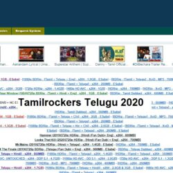 Tamilrockers Telugu site 2020