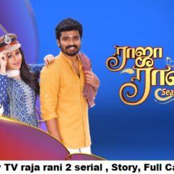 Tamil Vijay TV raja rani 2 serial , Story, Full Cast, Review